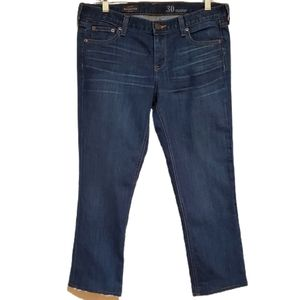 J. Crew Matchstick Faded Cropped Jeans